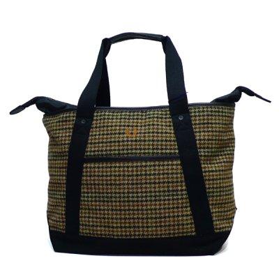 画像1: フレッドペリー × ムーン / ウールトートバッグ ベージュ(F9178-34)