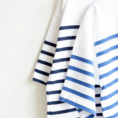 画像4: Saint James / NAVAL SHORT SLEEVE SHIRTS