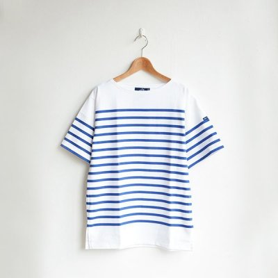 画像1: Saint James / NAVAL SHORT SLEEVE SHIRTS