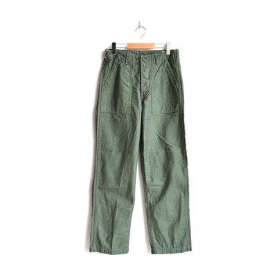 画像1: orSlow/US ARMY FATIGUE PANTS  グリーン
