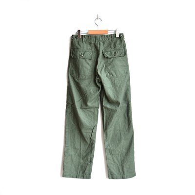 画像2: orSlow/US ARMY FATIGUE PANTS  グリーン