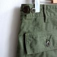 画像6: orSlow/ SLIM FIT FATIGUE PANTS  グリーン