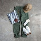 MORE DEDAIL3: orSlow/ SLIM FIT FATIGUE PANTS  グリーン