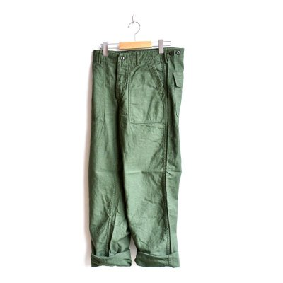 画像1: orSlow/ U.S.ARMY FATIGUE PANTS グリーン