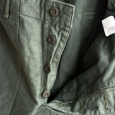 画像3: orSlow/ U.S.ARMY FATIGUE PANTS グリーン