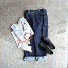 MORE DEDAIL3: STILL BY HAND / 5pocket Selvege Wide Denim Pants