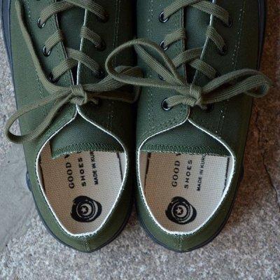 画像3: SHOES LIKE POTTERY (MOONSTAR) / VULCANIZED CLOTH OLIVE