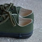 MORE DEDAIL1: SHOES LIKE POTTERY (MOONSTAR) / VULCANIZED CLOTH OLIVE