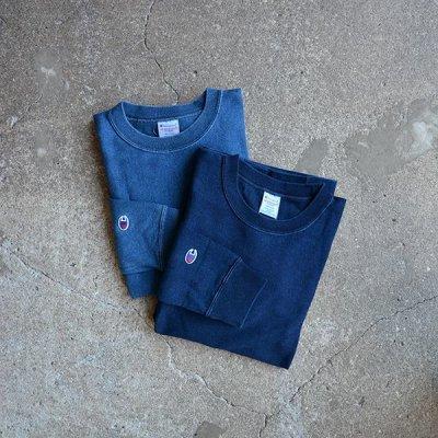 画像1: Champion/リバースウィーブ ロングスリーブTシャツ (C3-L401)