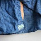 MORE DEDAIL1: オアスロウ / WORK CHAMBRAY SHIRT(ワークシャンブレーシャツ)