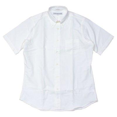 画像1: インディビジュアライズドシャツ / ショートスリーブB.Dシャツ アローオックスフォード ホワイト