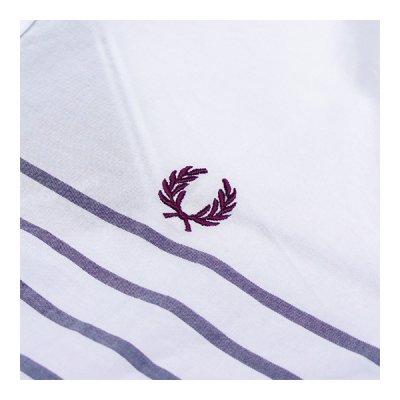 画像3: フレッドペリー/ チップド・サマー・ロングスリーブシャツ(M4268-100)