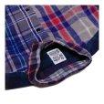 画像2: シュペリオールレイバー/ スモールカラー・チェックシャツ クレイジーパターン(13AW-SL203) (2)
