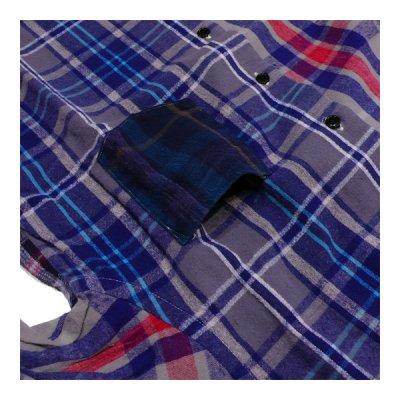 画像3: シュペリオールレイバー/ スモールカラー・チェックシャツ クレイジーパターン(13AW-SL203)