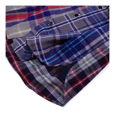 画像5: シュペリオールレイバー/ スモールカラー・チェックシャツ クレイジーパターン(13AW-SL203)