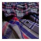 MORE DEDAIL1: シュペリオールレイバー/ スモールカラー・チェックシャツ クレイジーパターン(13AW-SL203)