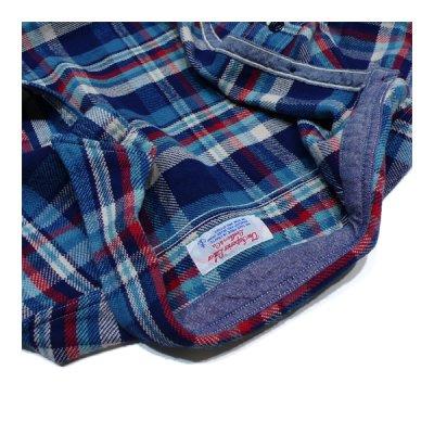 画像2: シュペリオールレイバー/ ワークシャツ ブルーチェック(13AW-SL204)