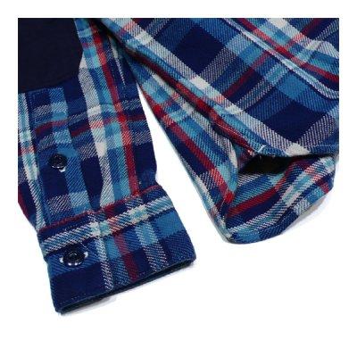 画像5: シュペリオールレイバー/ ワークシャツ ブルーチェック(13AW-SL204)