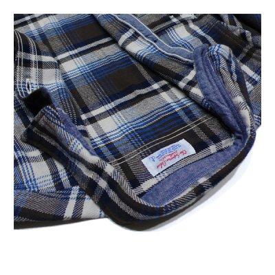 画像2: シュペリオールレイバー/ ワークシャツ ブラウンチェック(13AW-SL204)