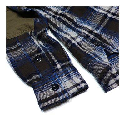 画像5: シュペリオールレイバー/ ワークシャツ ブラウンチェック(13AW-SL204)