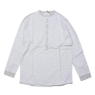 画像1: シュペリオールレイバー/ ヘンリーネックシャツ 杢キナリ(13SS-SL160)