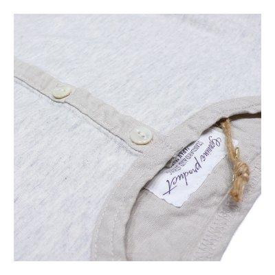 画像2: シュペリオールレイバー/ ヘンリーネックシャツ 杢キナリ(13SS-SL160)