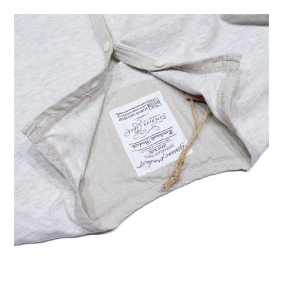 画像3: シュペリオールレイバー/ ヘンリーネックシャツ 杢キナリ(13SS-SL160)