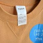 MORE DEDAIL1: YAAH / S/S SWEAT T-SHIRT (CT_003)