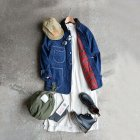 MORE DEDAIL3: orSlow / Lining 1950's Coverall Denim OW+Check