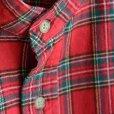 画像5: orslow / Stand Collar Long Shirt RedCheck