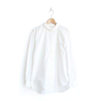画像2: HARVESTY / Round Collar Shirt(ラウンドカラーシャツ)