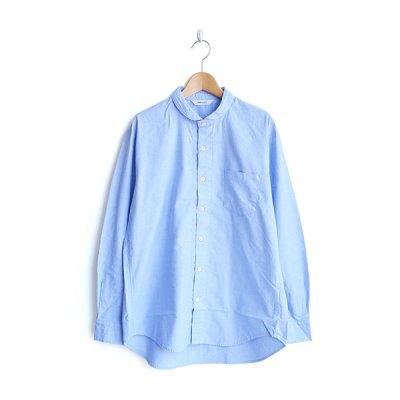 画像1: HARVESTY / Round Collar Shirt(ラウンドカラーシャツ)