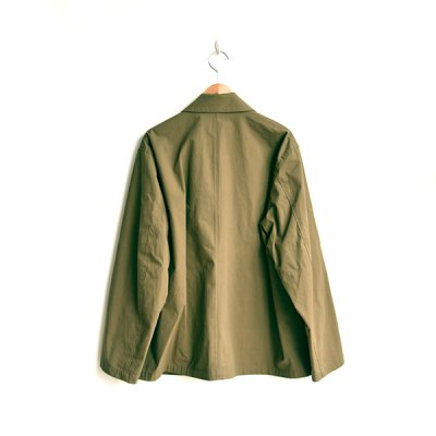画像2: STILL BY HAND / Cotton-Nylon Oxford Jacket(JK01204)