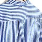 MORE DEDAIL2: *A VONTADE / Banded Collar Shirts -Cotton/Linen Chambray-
