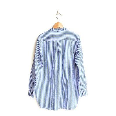 画像2: *A VONTADE / Banded Collar Shirts -Cotton/Linen Chambray-