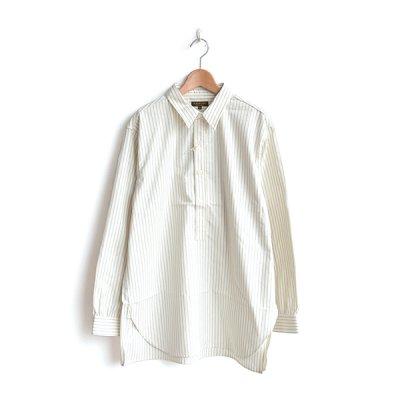 画像1: *A VONTADE / Classic Pullover Shirts -Cotton/Nepped Silk Brushed Sheeting-