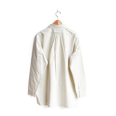 画像2: *A VONTADE / Classic Pullover Shirts -Cotton/Nepped Silk Brushed Sheeting-