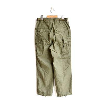 画像2: *A VONTADE / M-51 Trousers -Modify- Back sateen OLIVE