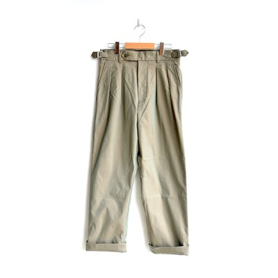 画像1: *A VONTADE / Officer Trousers -Taperd Fit-