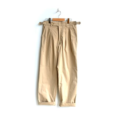 画像2: *A VONTADE / Officer Trousers -Taperd Fit-