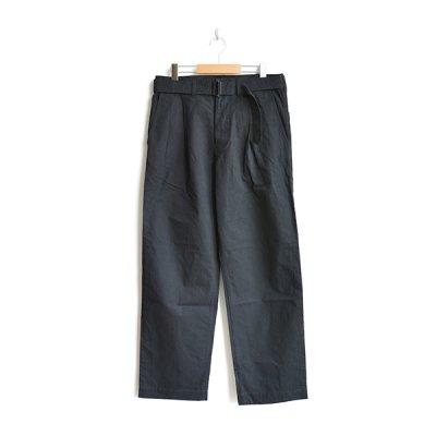 画像2: *A VONTADE / Mil. Cookman Trousers II W/Belt -Cotton/Linen Weather-