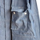 MORE DEDAIL2: *A VONTADE / BDU Tropical Jacket -4oz Lt. Chambray-
