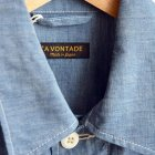 MORE DEDAIL1: *A VONTADE / BDU Tropical Jacket -4oz Lt. Chambray-