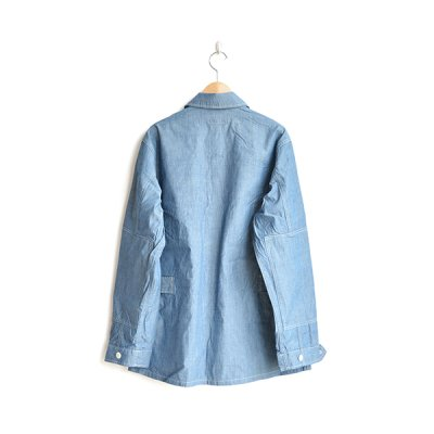 画像2: *A VONTADE / BDU Tropical Jacket -4oz Lt. Chambray-