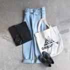MORE DEDAIL3: orSlow / 108 Women's Straight Cut Jeans Sky Blue