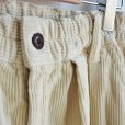 画像4: HARVESTY / CORDUROY CIRCUS PANTS