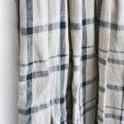 MORE DEDAIL2: HARVESTY / リネンチェック ロングスカート
