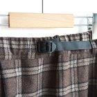 MORE DEDAIL1: GRAMiCCi / Wool Blend Long Flare Skirt