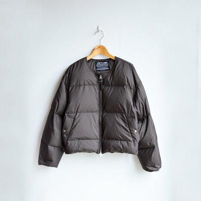 画像1: THE LOFT LABO / NEET / NO COLLAR WIDE DOWN JACKET