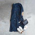 MORE DEDAIL3: orSlow / No Collar Flannel Long Shirt (00-9574)
